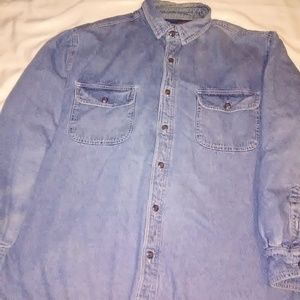 Levi Strauss denim jacket size large mens